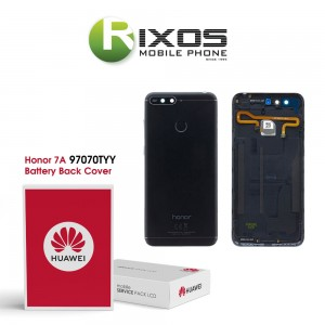 Huawei Honor 7A (L29A-L29B) Battery Back Cover Black