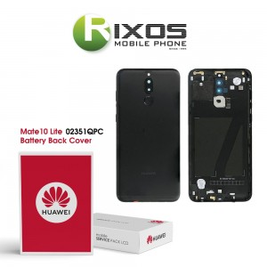 Huawei Mate 10 Lite (RNE-L01, RNE-L21) Battery Back Cover Black