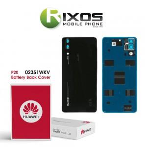 Huawei P20 (EML-L09, EML-L29) Battery Back Cover Black