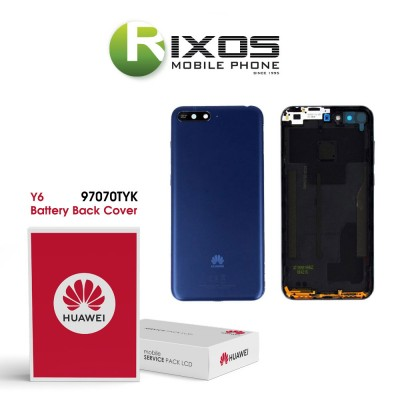 Huawei Y6 2018 (L31B) Battery Back Cover Prime Blue