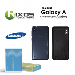 Samsung SM-A105F Galaxy A10 Battery Cover Black GH82-20232A