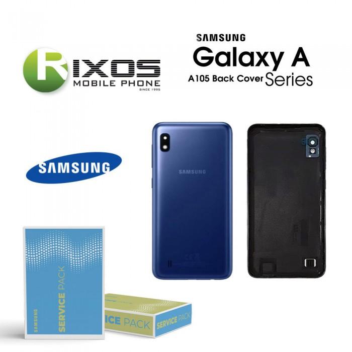 Samsung SM-A105F Galaxy A10 Battery Cover Blue GH82-20232B