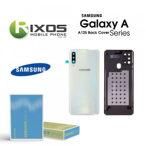 Samsung SM-A125F Galaxy A12 Battery Cover White GH82-24487B