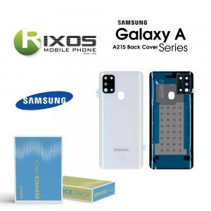 Samsung SM-A215F Galaxy A21 Battery Cover White GH82-22780B