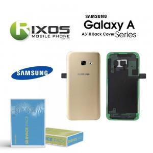Samsung SM-A310F Galaxy A3 2016 Battery Cover Gold GH82-11093A