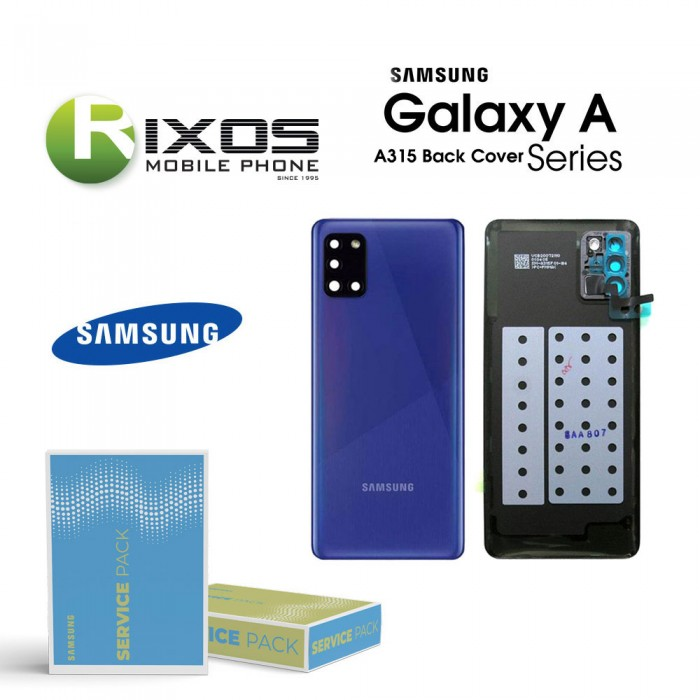 Samsung SM-A315F Galaxy A31 Battery Cover Prism Crush Blue GH82-22338D