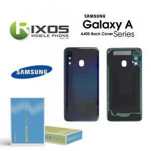 Samsung SM-A405F Galaxy A40 Battery Cover Black GH82-19406A