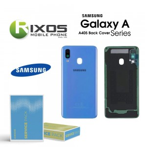 Samsung SM-A405F Galaxy A40 Battery Cover Blue GH82-19406C