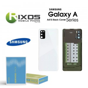 Samsung SM-A415F Galaxy A41 Battery Cover Prism Crush Silver GH82-22585C
