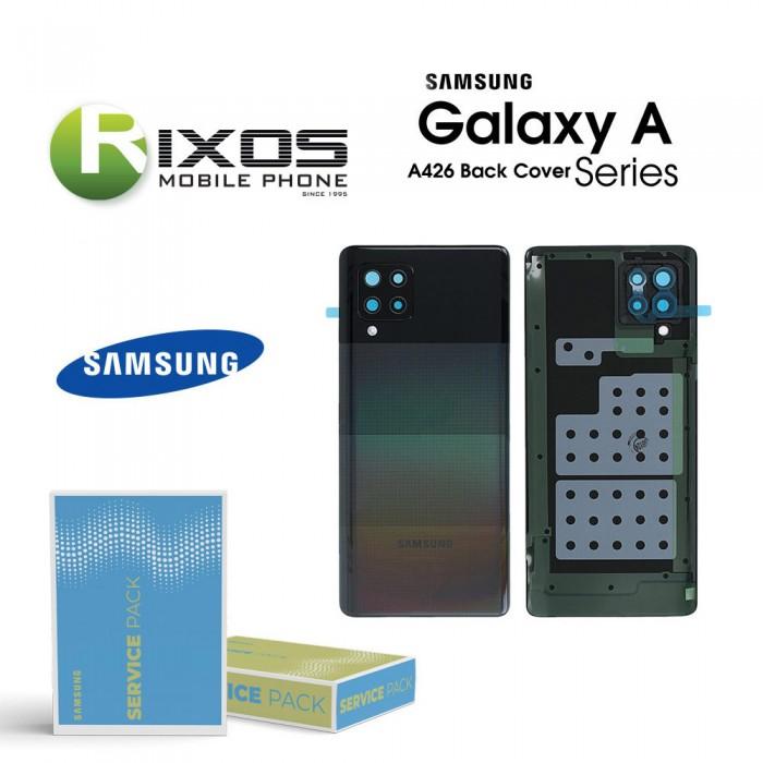 Samsung SM-A426F Galaxy A42 Battery Cover Black GH82-24378A