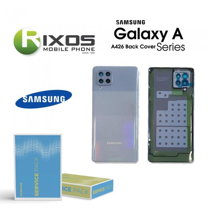 Samsung SM-A426F Galaxy A42 Battery Cover Grey GH82-24378C