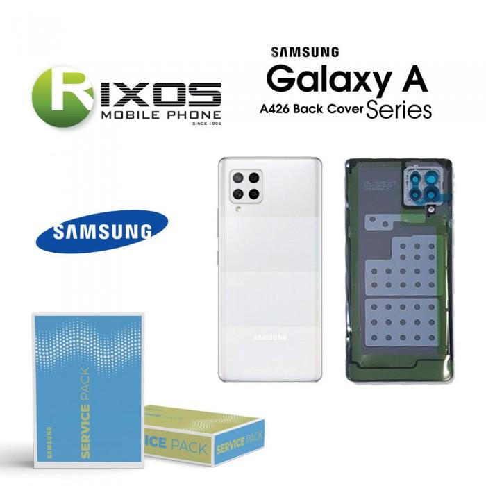 Samsung SM-A426F Galaxy A42 Battery Cover White GH82-24378B