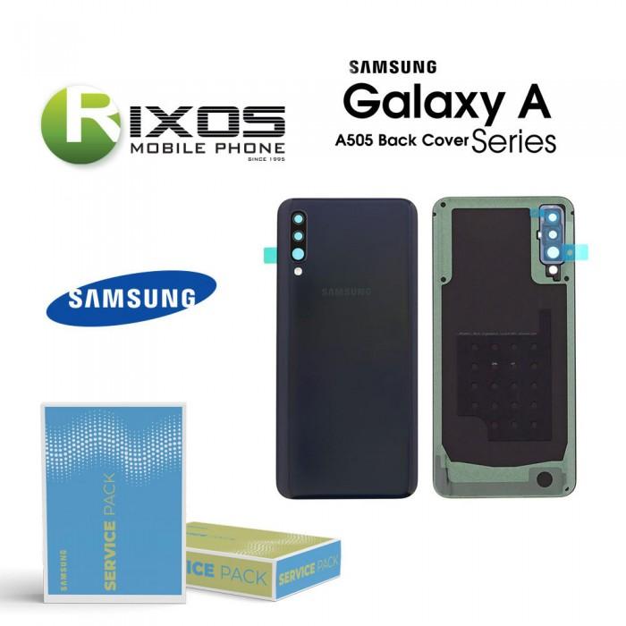 Samsung SM-A505F Galaxy A50 Battery Cover Black GH82-19229A