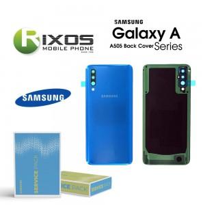Samsung SM-A505F Galaxy A50 Battery Cover Blue GH82-19229C