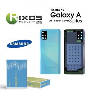 Samsung SM-A515F Galaxy A51 Battery Cover Prism Crush Blue GH82-21653C