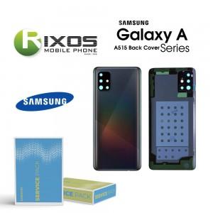 Samsung SM-A515F Galaxy A51 Battery Cover Prism Crush Silver GH82-21653F
