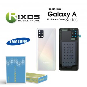 Samsung SM-A515F Galaxy A51 Battery Cover Prism Crush White GH82-21653A