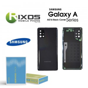 Samsung SM-A516F Galaxy A51 Battery Cover Black GH82-22938A