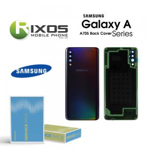 Samsung SM-A705F Galaxy A70 Battery Cover Black GH82-19467A