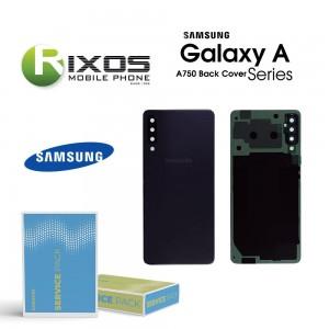 Samsung SM-A750F Galaxy A7 2018 Battery Cover Black GH82-17829A