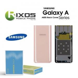 Samsung SM-A805F Galaxy A80 2018 Battery Cover Black GH82-20055A