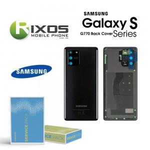 Samsung SM-G770F Galaxy S10 Lite Battery Cover Prism Black GH82-21670A