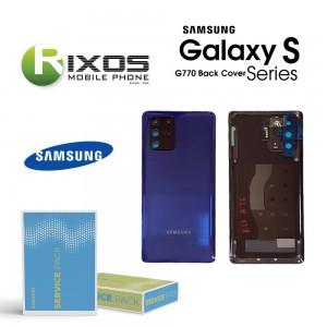 Samsung SM-G770F Galaxy S10 Lite Battery Cover Prism Blue GH82-21670C