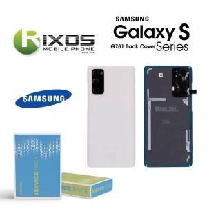 Samsung SM-G781F Galaxy S20 FE 5G Battery Cover Cloud White GH82-24223B
