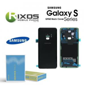 Samsung SM-G960F Galaxy S9 Battery Cover Midnight Black GH82-15865A