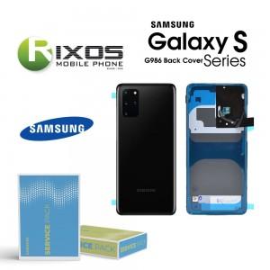 Samsung SM-G986 Galaxy S20 Plus Battery Cover Cosmic Black GH82-21634A