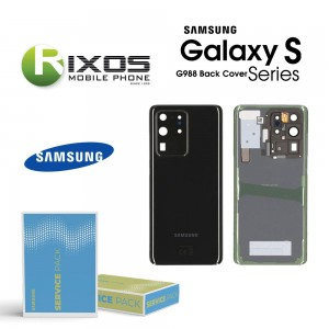 Samsung SM-G988 Galaxy S20 Ultra Battery Cover Cosmic Black GH82-22217A