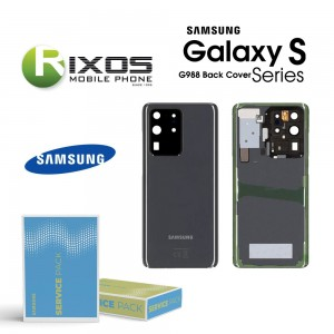 Samsung SM-G988 Galaxy S20 Ultra Battery Cover Cosmic Grey GH82-22217B