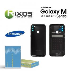 Samsung SM-M215 Galaxy M21 Battery Cover Raven Black GH82-22609A