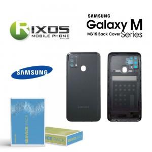 Samsung SM-M315 Galaxy M31 Battery Cover Space Black GH82-22412C