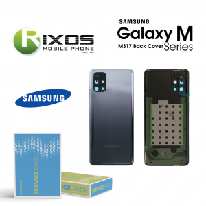 Samsung SM-M317 Galaxy M31s Battery Cover Mirage Black GH82-23284A