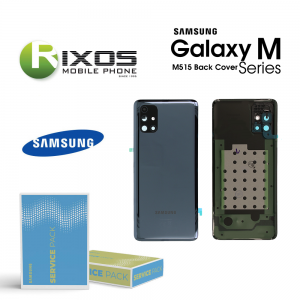 Samsung SM-M515 Galaxy M51 Battery Cover Celestial Black GH82-23415A