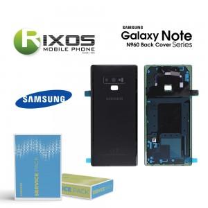 Samsung SM-N960 Galaxy Note 9 Battery Cover Black GH82-16917A