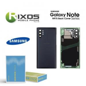 Samsung SM-N975 Galaxy Note 10 Plus Battery Cover Aura Black GH82-20588A