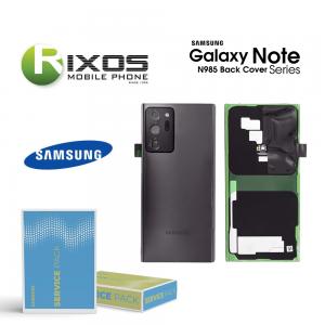 Samsung SM-N985 - SM-N986 Galaxy Note 20 Ultra Battery Cover Mystic Black GH82-23281A