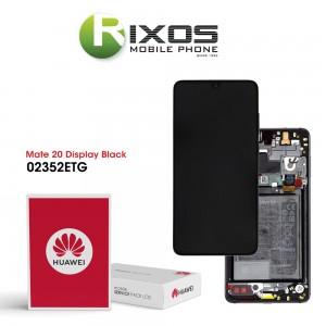 Huawei Mate 20 (HMA-L09, HMA-L29) Display module front cover + LCD + digitizer + battery black 02352ETG