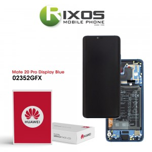 Huawei Mate 20 Pro (LYA-L09, LYA-L29, LYA-L0C) Display module front cover + LCD + digitizer + battery midnight blue 02352GFX