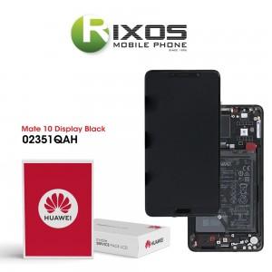 Huawei Mate 10 (ALP-L09, ALP-L29) Display module front cover + LCD + digitizer + battery black 02351QAH