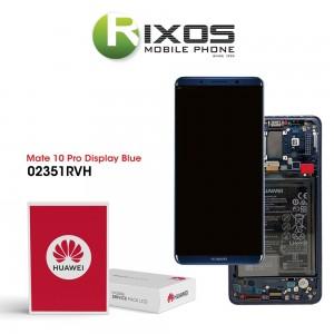 Huawei Mate 10 Pro (BLA-L09, BLA-L29) Display module front cover + LCD + digitizer + battery midnight blue 02351RVH
