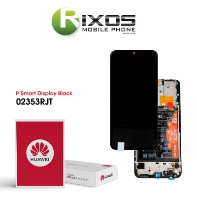 Huawei P smart 2020 Display module front cover + LCD + digitizer + battery black 02353RJT