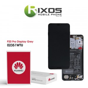 Huawei P20 Pro (CLT-L09, CLT-L29) Display module front cover + LCD + digitizer + battery twilight 02351WTU