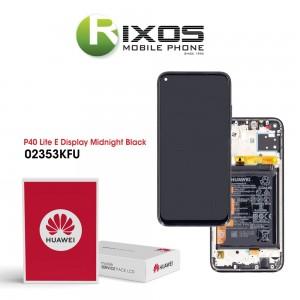 Huawei P40 Lite (JNY-L21A JNY-LX1) Display module front cover + LCD + digitizer + battery midnight black 02353KFU