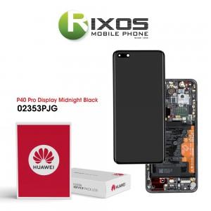 Huawei P40 Pro (ELS-NX9 ELS-N09) Display module front cover + LCD + digitizer + battery black 02353PJG