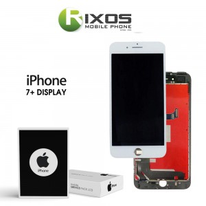 Display module LCD + Digitizer white for iPhone 7+