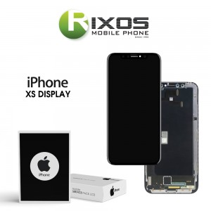 Display module LCD + Digitizer black for iPhone XS