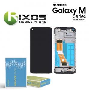 Samsung Galaxy M11 (SM-M115F) Display unit complete black GH81-18736A